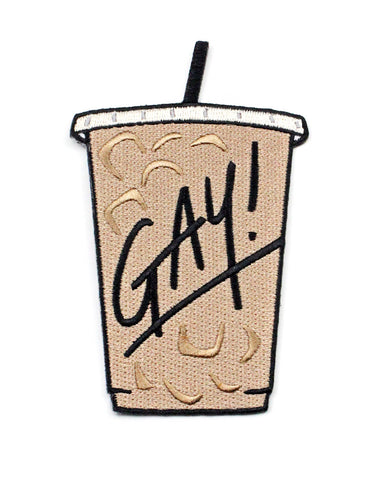 GAY! Iced Coffee Patch