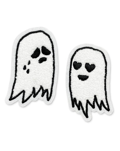 Ghost Pair Chenille Patch Set