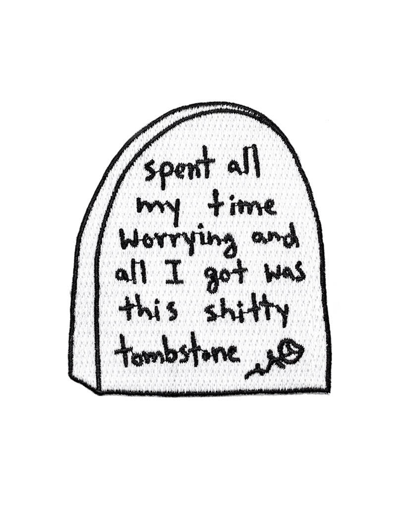Worrying Tombstone Patch-Pretty Bad Co.-Strange Ways