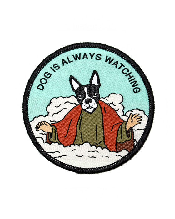 Dog Is Always Watching Patch-Pretty Bad Co.-Strange Ways