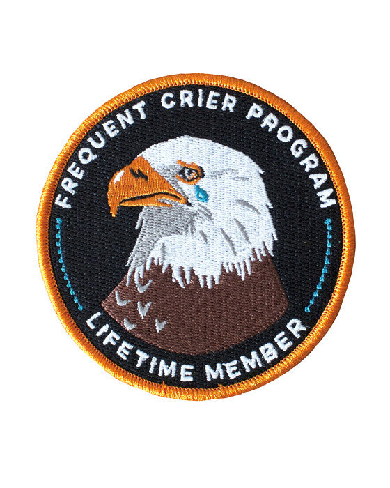 Frequent Crier Program Patch-Stay Home Club-Strange Ways