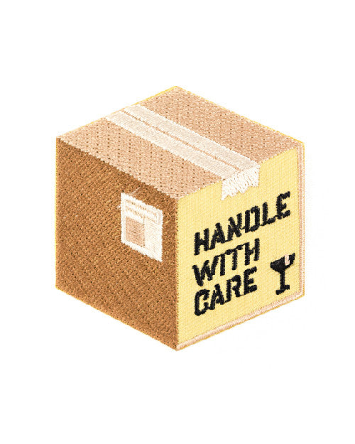 Handle With Care Patch-These Are Things-Strange Ways