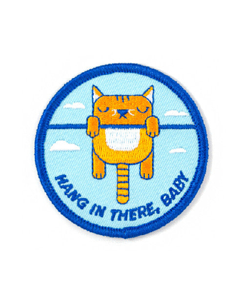 Hang In There, Baby Cat Patch-These Are Things-Strange Ways