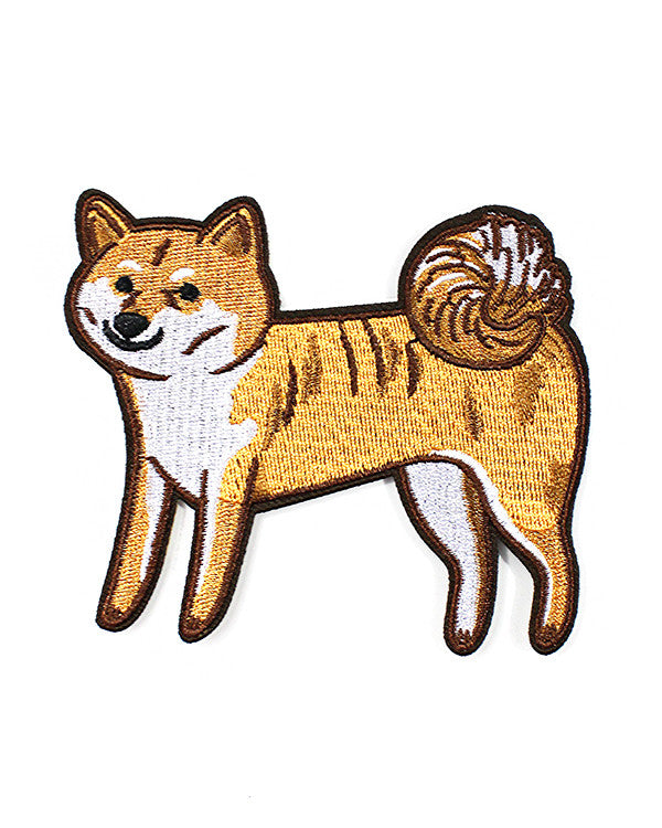 Shiba Patch-Stay Home Club-Strange Ways