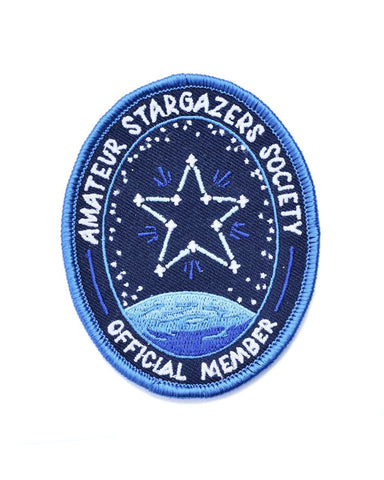 Amateur Stargazers Society Patch (Glow-in-the-Dark)