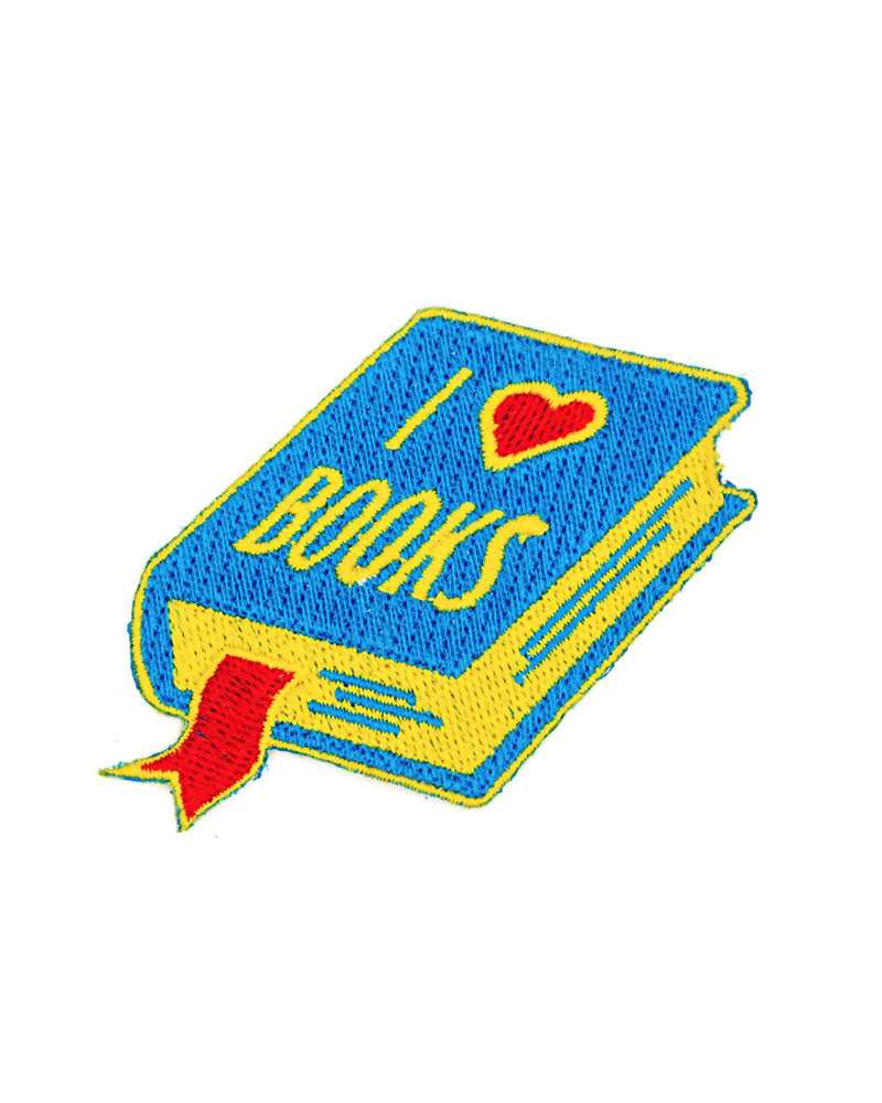 I Heart Books Patch-These Are Things-Strange Ways