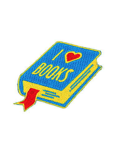 I Heart Books Patch