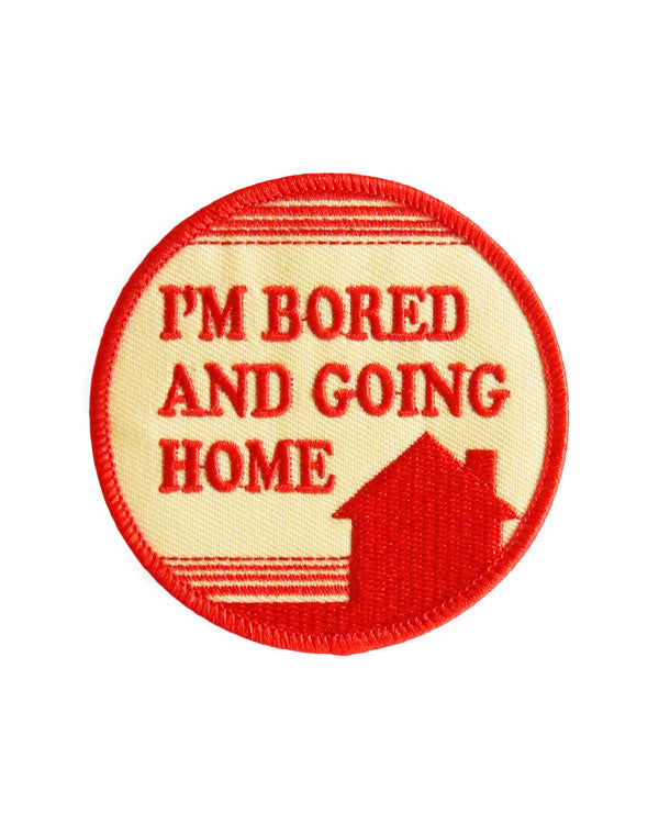 Bored And Going Home Patch-Hungry Ghost Press-Strange Ways