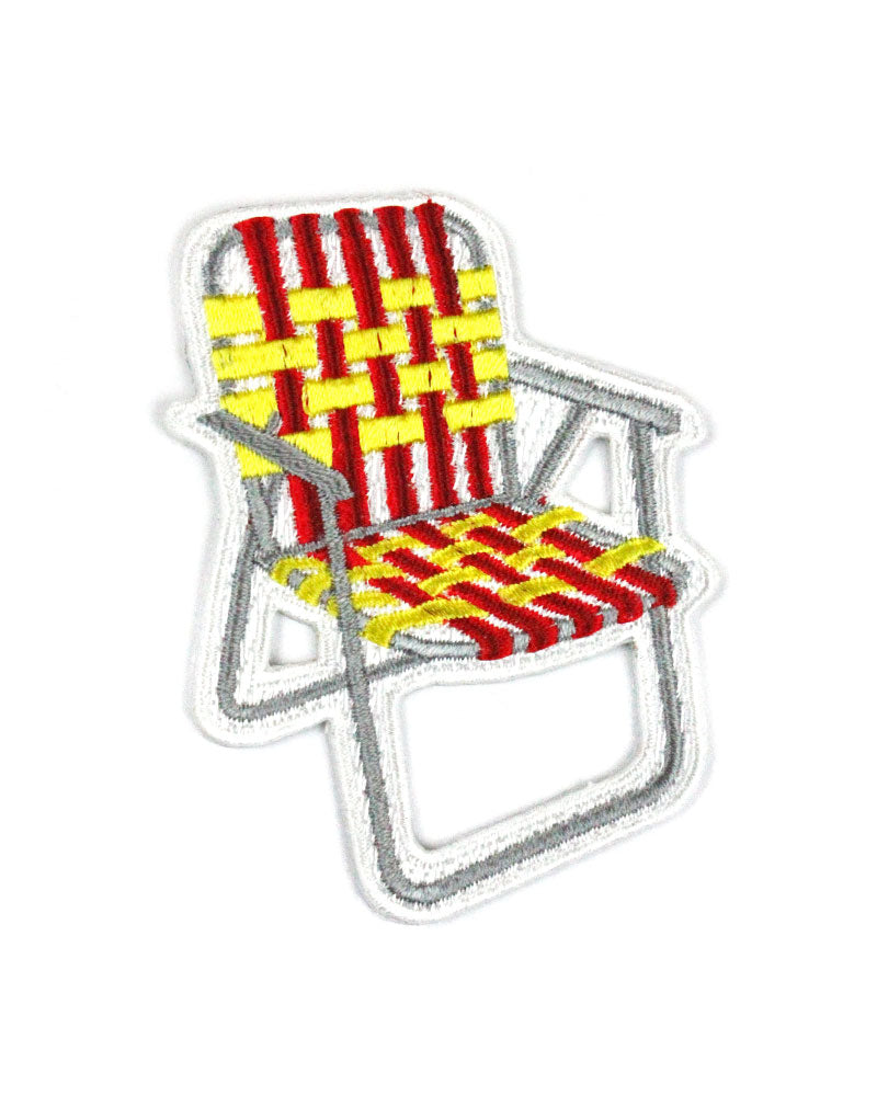 Camping Lawn Chair Patch-Boldfaced Goods-Strange Ways