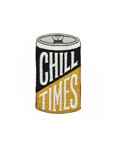 Chill Times Beer Can Patch