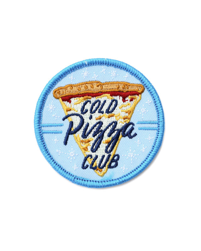 Cold Pizza Club Patch-Frog and Toad Press-Strange Ways