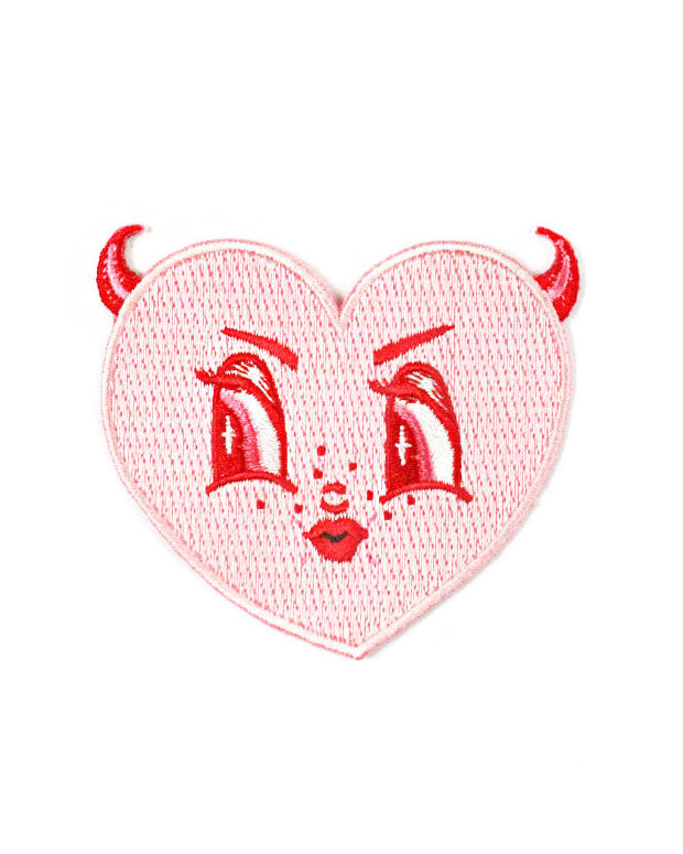 Devil Heart Patch-Creepy Gals-Strange Ways