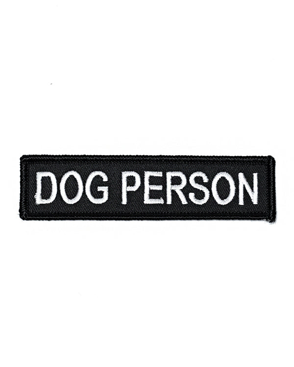 Dog Person Patch-Monsters Outside-Strange Ways