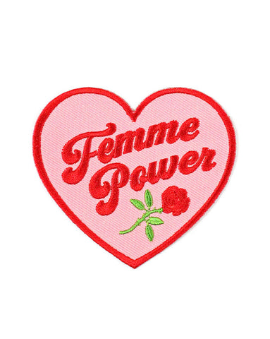 Femme Power Heart Patch