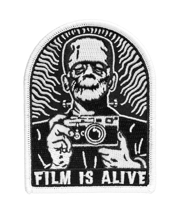 Film Is Alive Frankenstein Patch (Glow-in-the-Dark)-Shoot Film Co.-Strange Ways