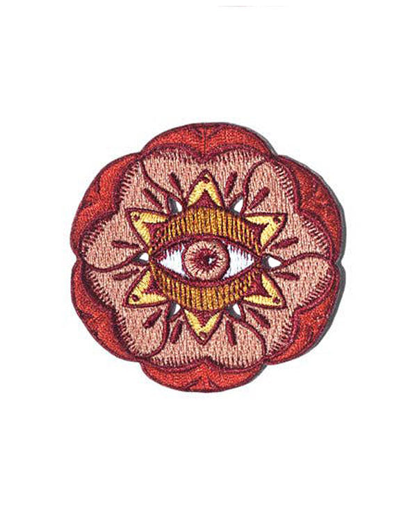 Floral Evil Eye Patch-Paper Shuttle-Strange Ways