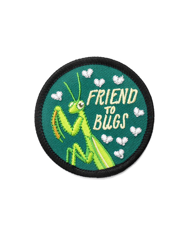 Friend To Bugs Patch-Frog and Toad Press-Strange Ways