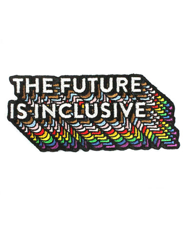 The Future Is Inclusive Rainbow Patch