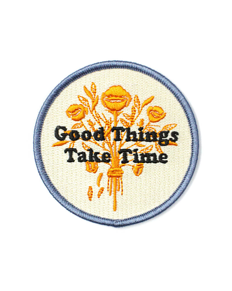 Good Things Take Time Patch-The Second Messenger-Strange Ways