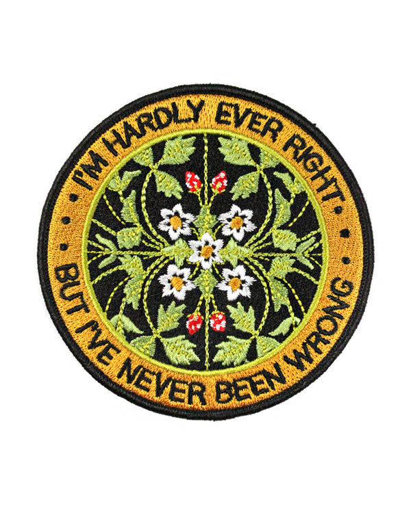 Never Been Wrong Patch-Stay Home Club-Strange Ways