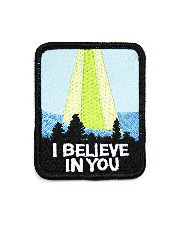 I Believe In You UFO Patch-Band Of Weirdos-Strange Ways