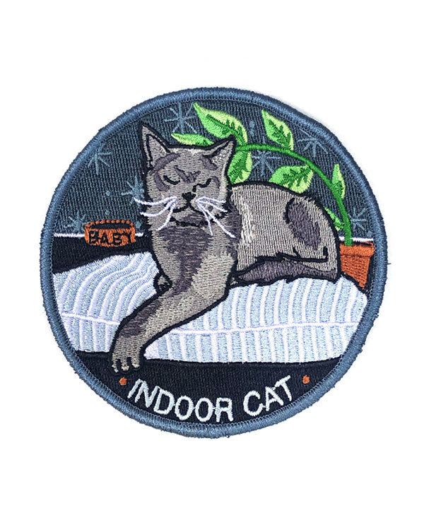 Indoor Cat Patch-Stay Home Club-Strange Ways