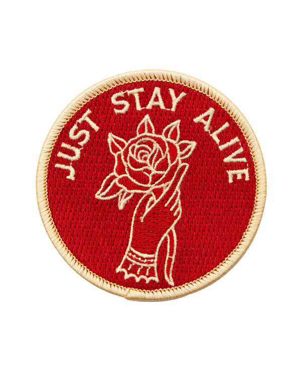 Just Stay Alive Patch-Pretty Bad Co.-Strange Ways