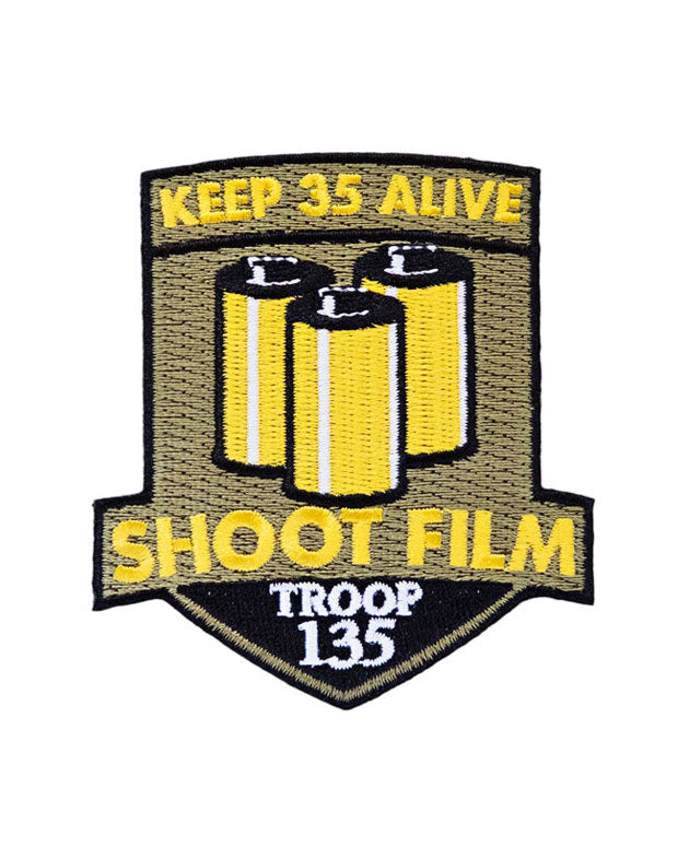 Keep 35 Alive Patch-Shoot Film Co.-Strange Ways