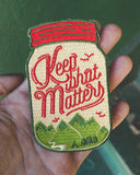 Keep What Matters Patch-Asilda Store-Strange Ways