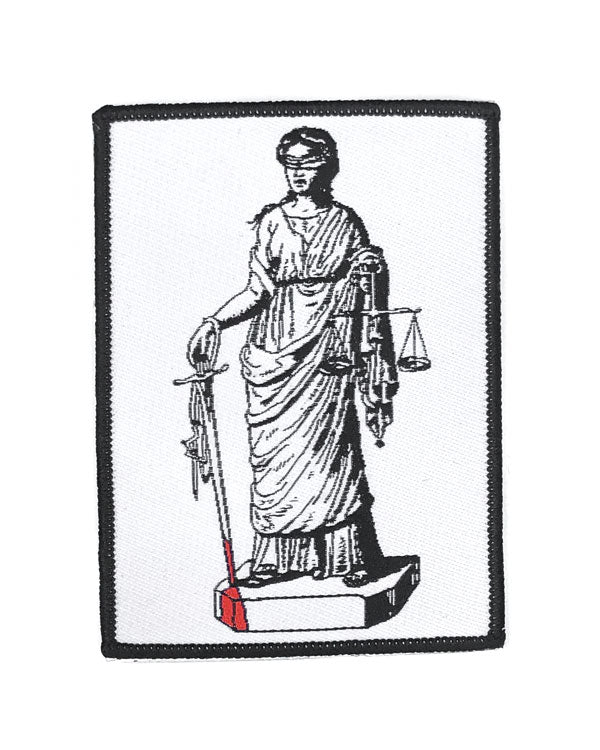 Lady Justice Patch-Pretty Bad Co.-Strange Ways