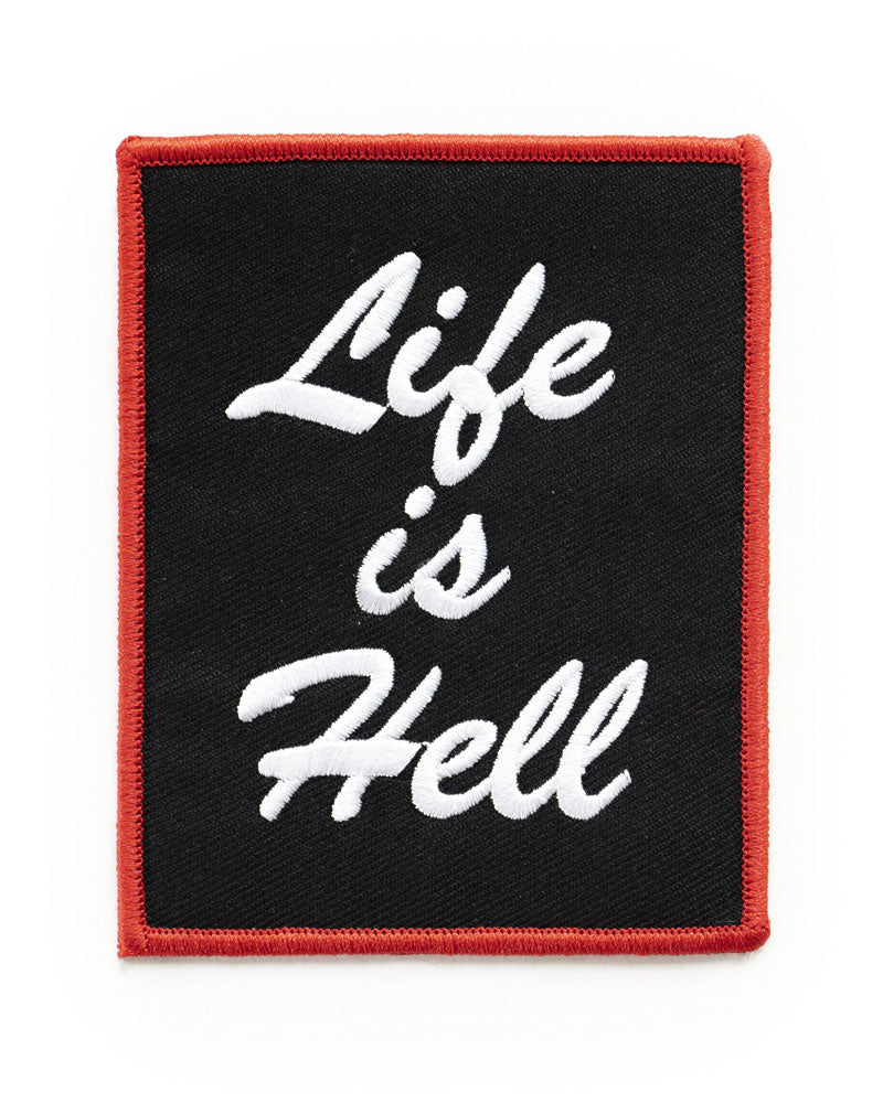 Life Is Hell Patch-No Fun Press-Strange Ways