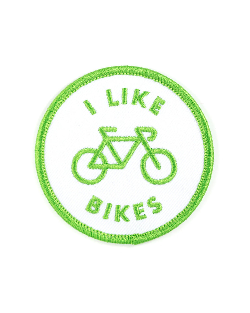 I Like Bikes Patch-These Are Things-Strange Ways
