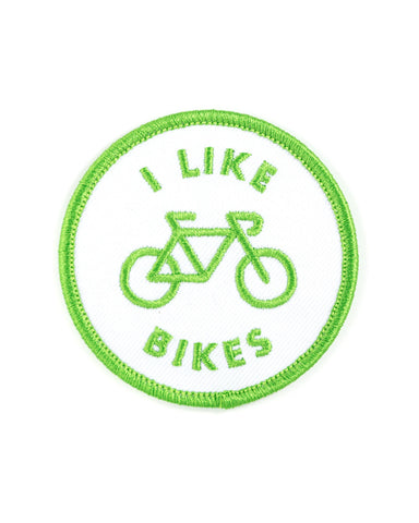 I Like Bikes Patch