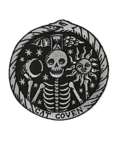 Memento Mori Skeleton Large Patch