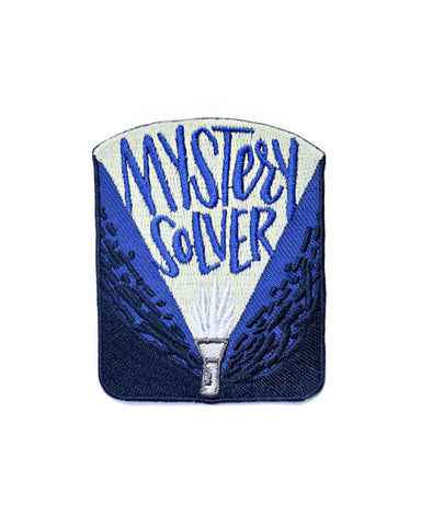 Mystery Solver Patch (Glow-in-the-Dark)