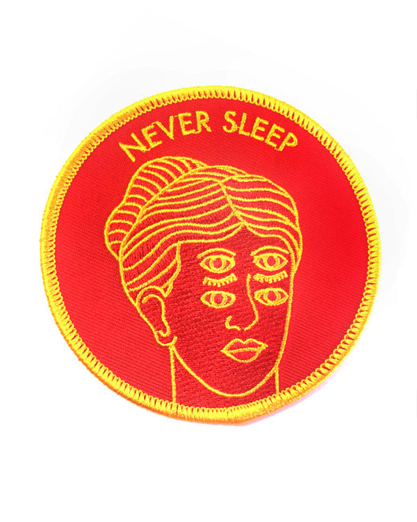 Never Sleep Patch-Badaboöm Studio-Strange Ways