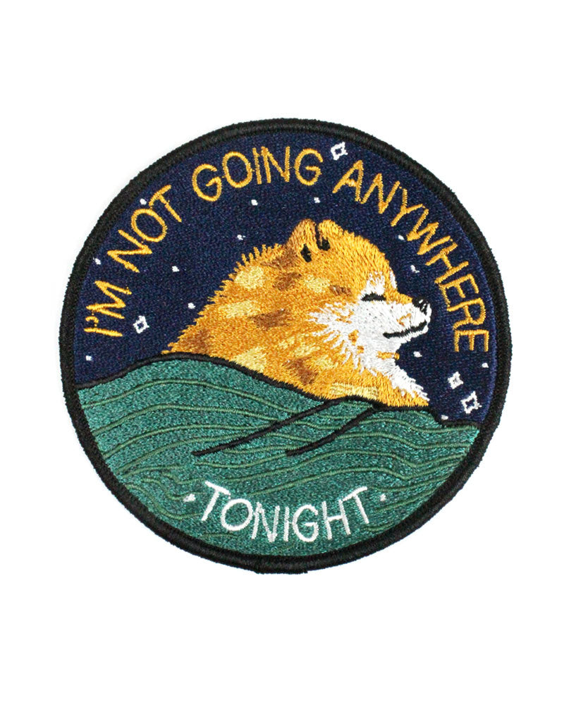 Not Going Anywhere Tonight Patch-Stay Home Club-Strange Ways