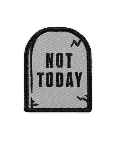 Not Today Tombstone Patch