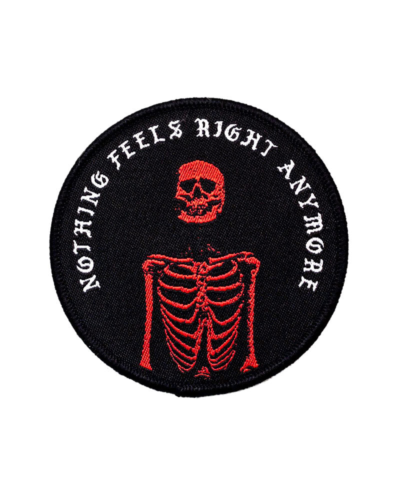 Nothing Feels Right Anymore Patch-Pretty Bad Co.-Strange Ways