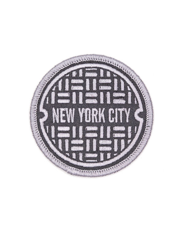 NYC Sewer Cover Patch-These Are Things-Strange Ways