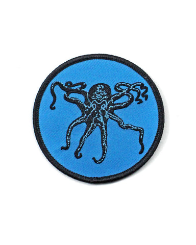 Deep Blue Octopus Patch