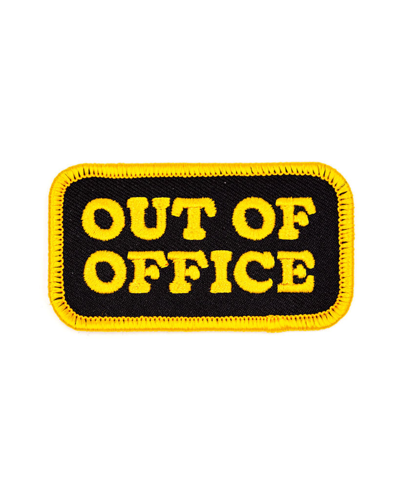 Out Of Office Patch-These Are Things-Strange Ways