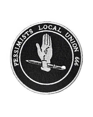 Pessimists Union Patch