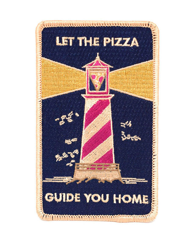 Pizza Lighthouse Patch-Badaboöm Studio-Strange Ways