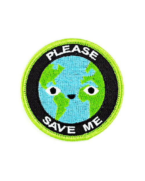Please Save Me Earth Patch-These Are Things-Strange Ways