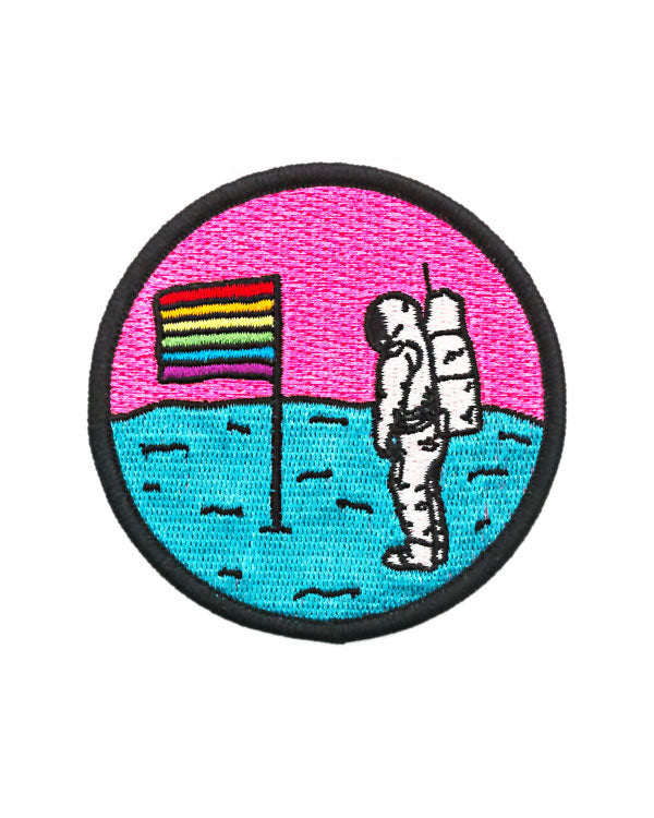 Queer Moon Astronaut Patch-Pretty Bad Co.-Strange Ways