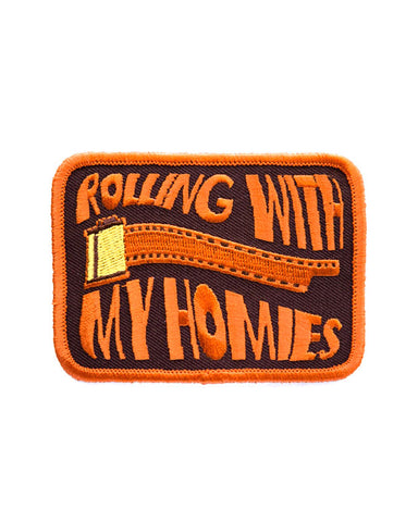 Rolling With My Homies Film Roll Patch