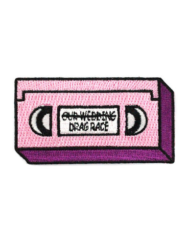 Drag Race VHS Tape Patch