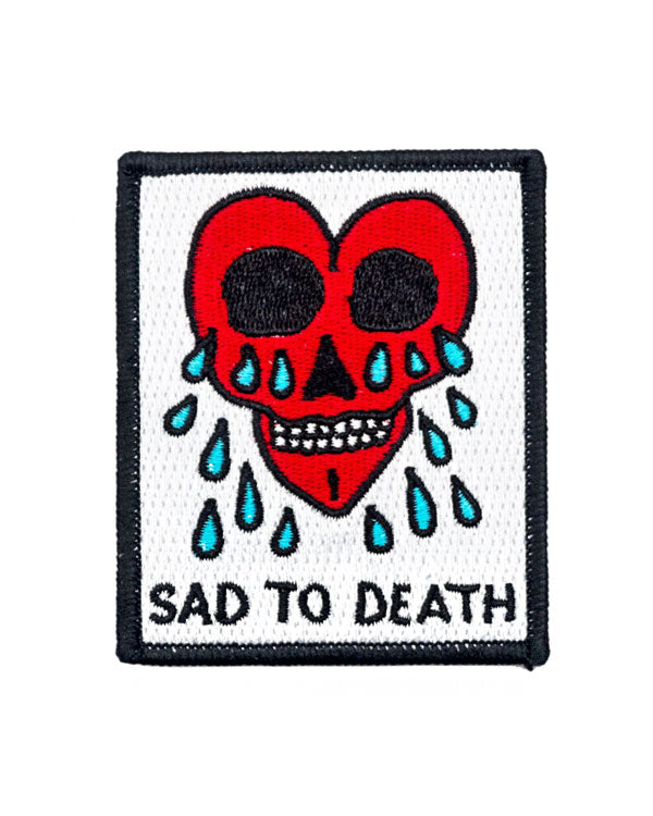 Sad To Death Patch-Pretty Bad Co.-Strange Ways