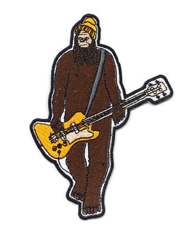 Mr. Big On Bass Sasquatch Large Patch